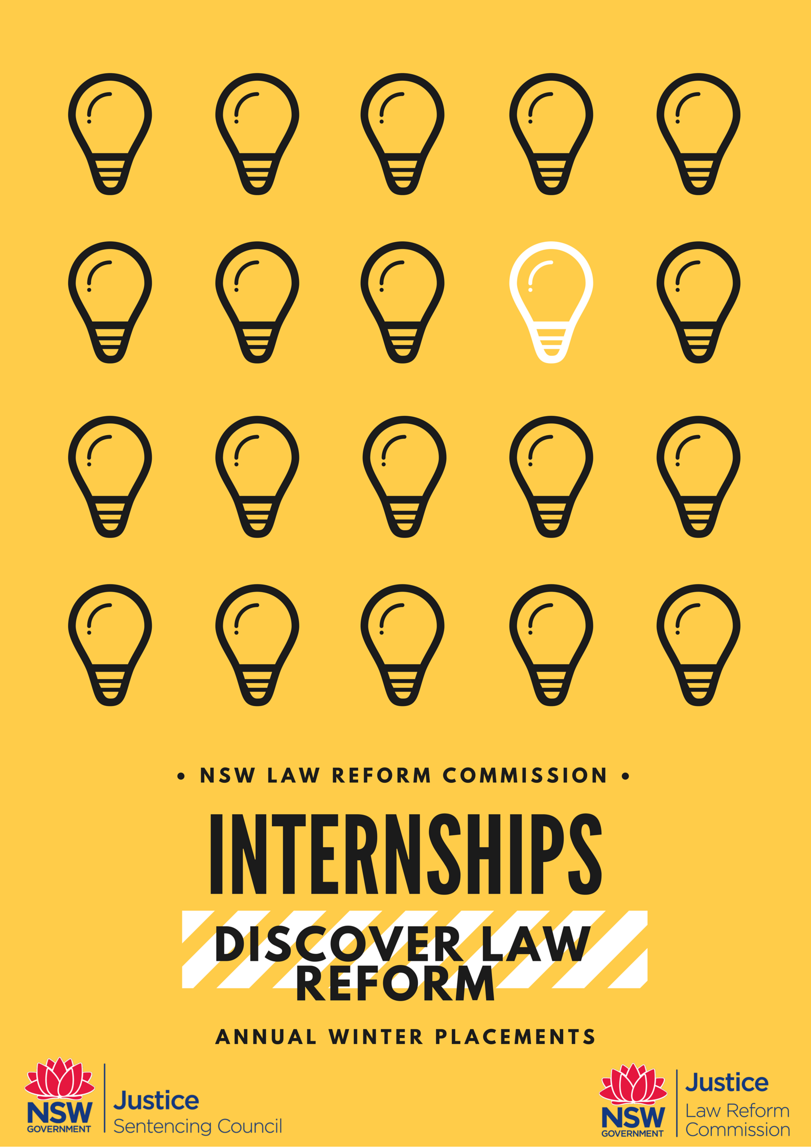 Front cover of the Winter Internship Program brochure​